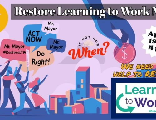 Save Learning To Work: Update